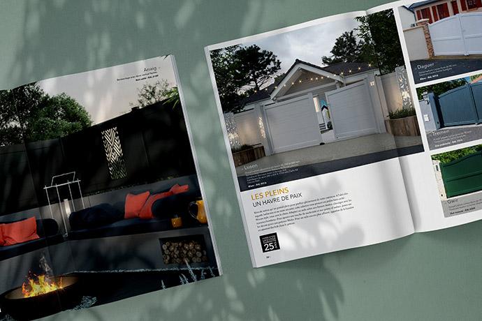 Le catalogue de portail, clôture et garde-corps Kostum
