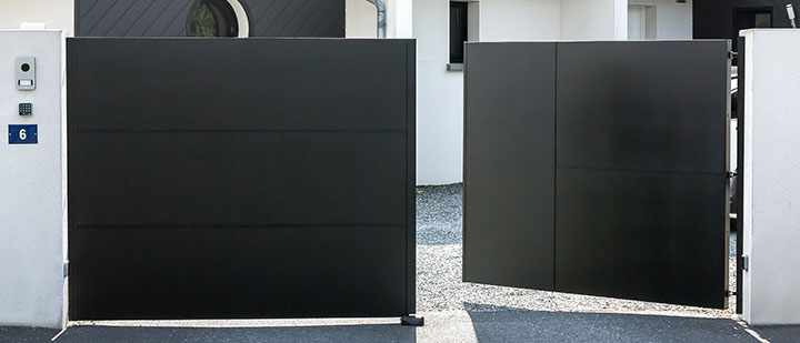 Solidité des portails et clôture en aluminium Kostum