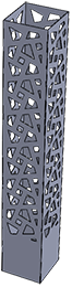 Habillage de spots en aluminium Kostum