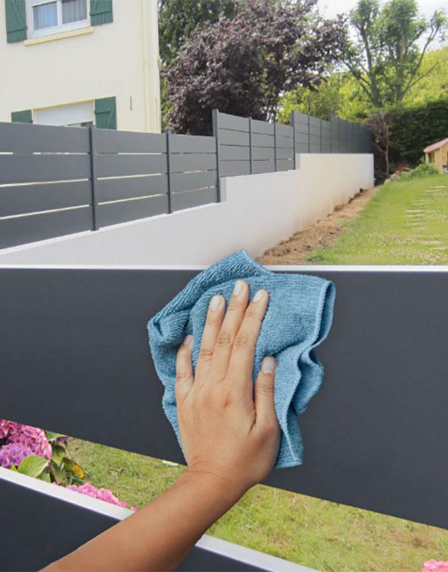 Entretenir son portail ou clôture aluminium