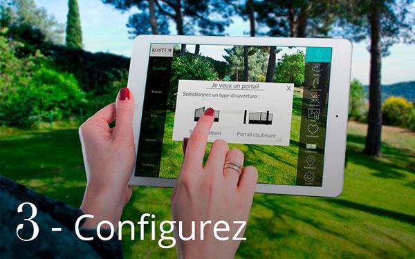 Configurer son portail en ligne