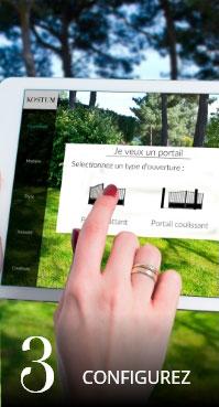 Configurer son portail, sa clôture ou son garde-corps en ligne
