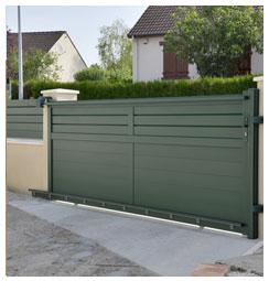 Plans pour alignement portails clôtures